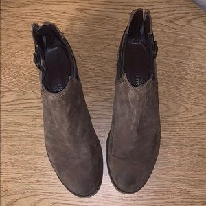 Franco Sarto Brown Booties Size 11
